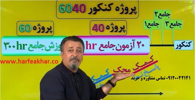 برنامه پروژه 6040 حرف آخر – دانلود برنامه آزمون جامع 6040 – برنامه پروژه ۶۰۴۰