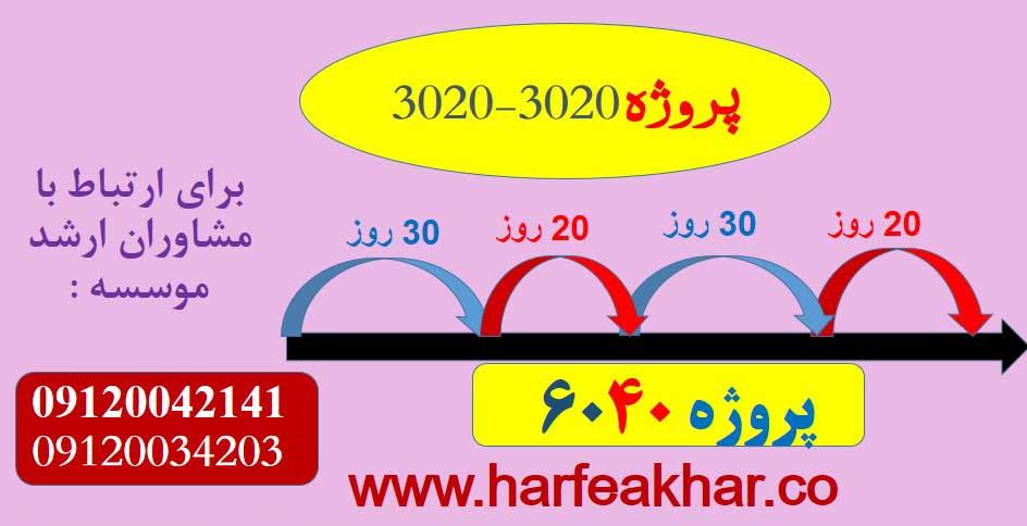 پروژه 6040 نظام جدید یا 3020-3020